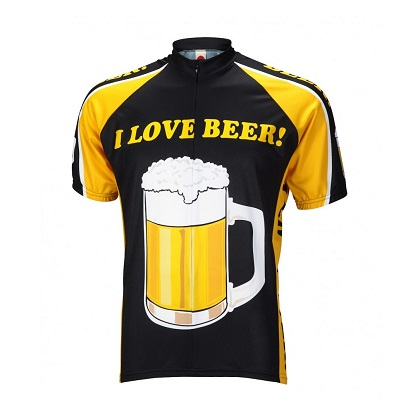 I Love Beer Cycling Jersey c9484246d