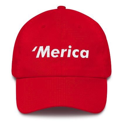 'Merica Red Dad Hat