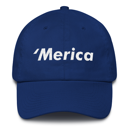 'Merica Blue Dad Hat