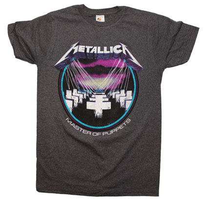 Metallica Master of Puppets Vintage Heather T-Shirt