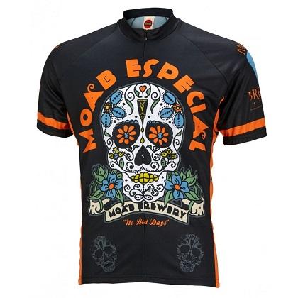 Moab Brewery Especial Sugar Skull Cycling Jersey