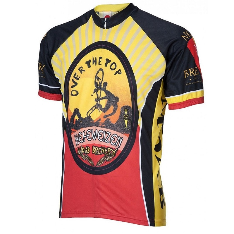Moab Brewery Over the Top Cycling Jersey 60c764404