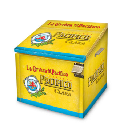 Pacifico Metal Icebox 24 Pack Cooler