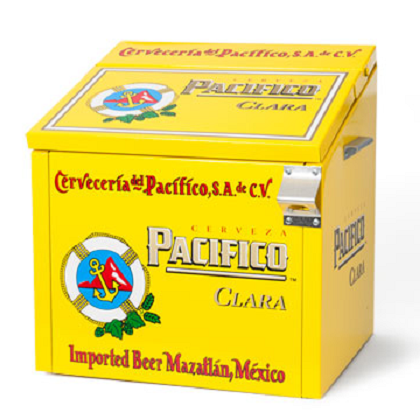 Pacifico Metal Cooler
