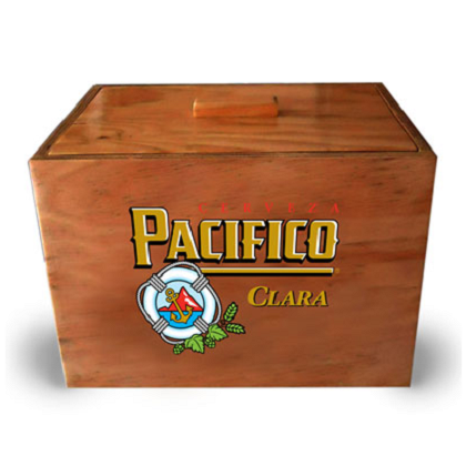Pacifico Wooden Cooler