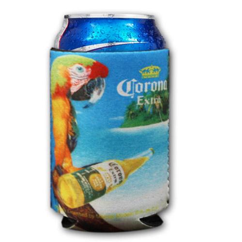 Corona Extra Parrot Beach Can Koozie
