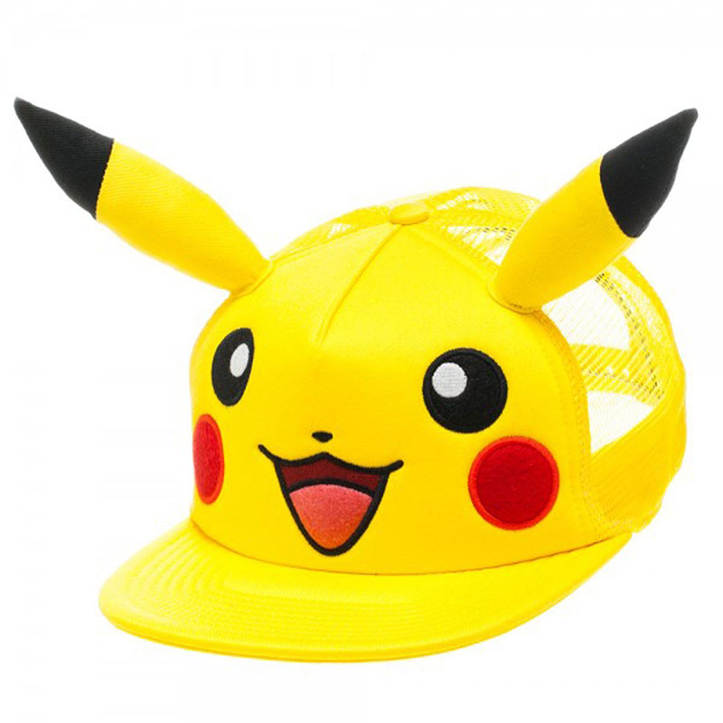 Pokemon Pikachu Trucker Hat With Ears