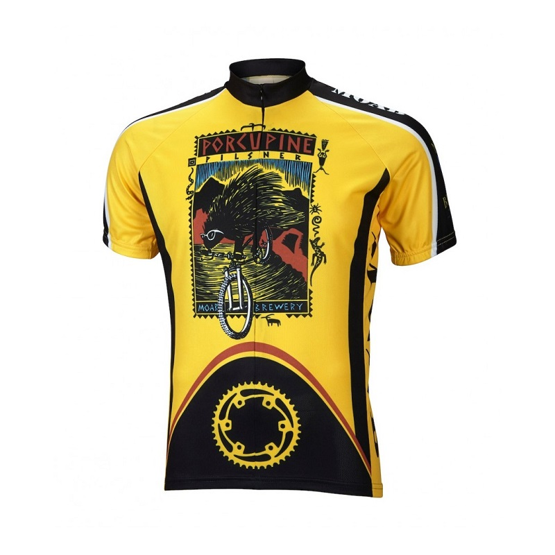 Moab Brewery Porcupine Pilsner Cycling Jersey 4ef72a55b