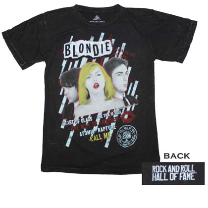 Rock and Roll Hall of Fame Inductees Blondie T-Shirt