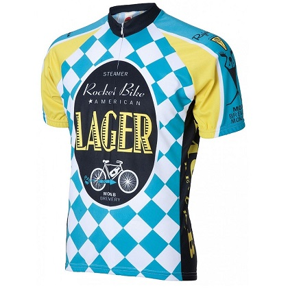 Moab Brewery Rocket Bike Lager Cycling Jersey