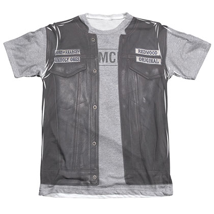 Sons Of Anarchy Unholy Costume Sublimation T-Shirt