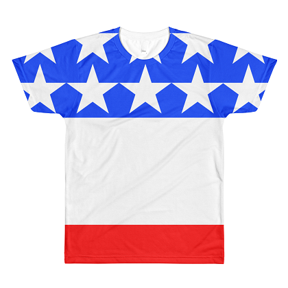 Premium Quality USA Red White and Blue Tshirt