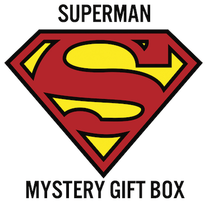 Superman Mystery Gift Box for a Man