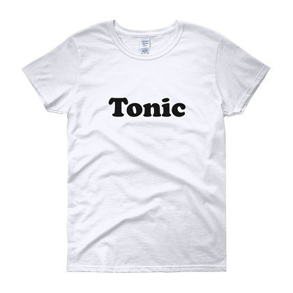 Tonic His and Hers Gin and Tonic Women's Costume Tshirt