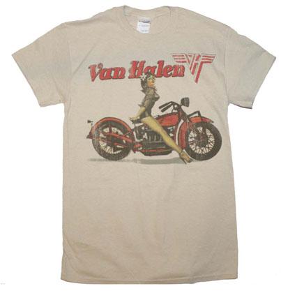 Van Halen Biker Pinup T-Shirt