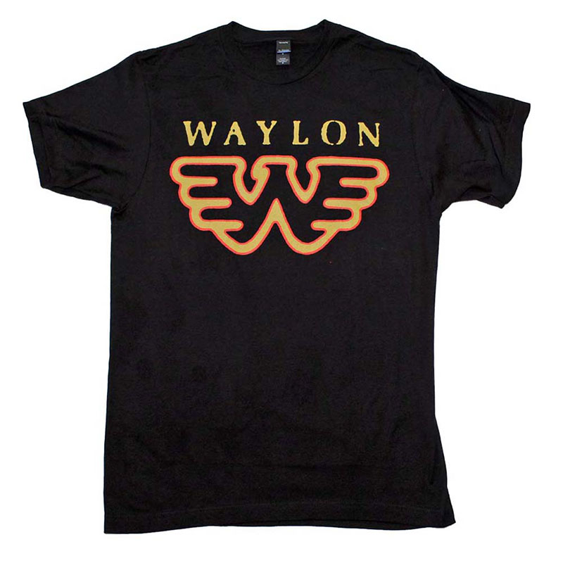 be800600 Waylon Jennings Flying W T-Shirt