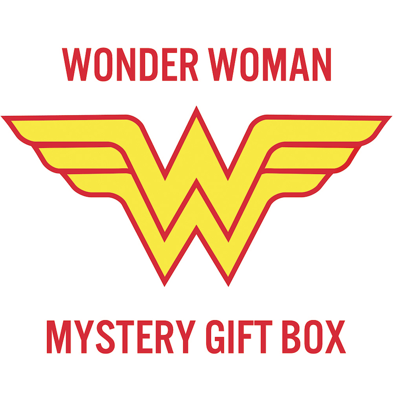 Wonder Woman Mystery Gift Box for a Woman