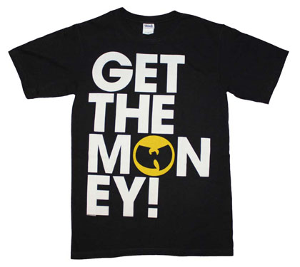 Wu Tang Clan Get the Money T-Shirt