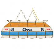 Coors 40 Stained Glass Pool Table Light (FREE SHIPPING)
