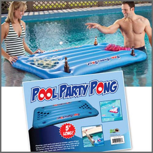 Beer Pong Pool Float